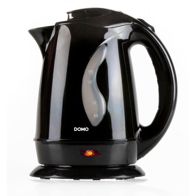 Domo Bouilloire électrique Do9019WK 2200 W 1,7 L Noir