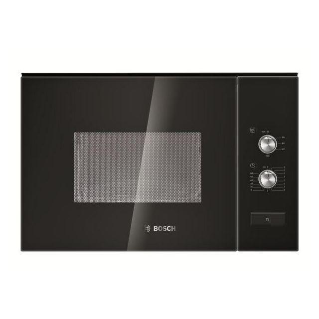 Bosch - micro-ondes encastrable 25l 900w noir - hmt82m664