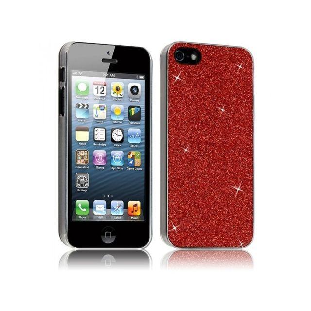 iphone 5 se coque rouge