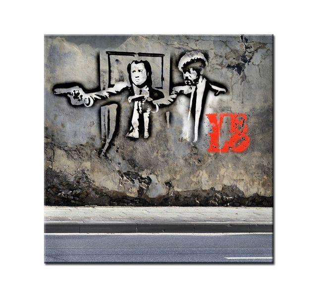 Hexoa Tableau décoration love pulp fiction - Fabrication française