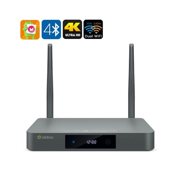 Auto-hightech Smart box tv android Realtek Rtd1295 Cpu, 2 Go de Ram, Hdmi , Usb 3.0, Sata 3.0