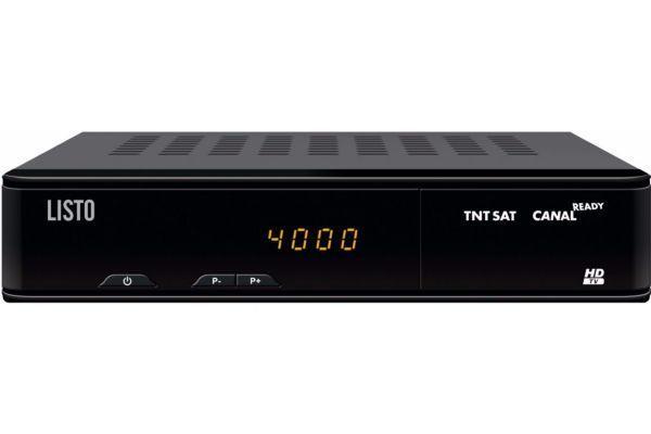 LISTO Terminal SAT-152 HD TNT SAT