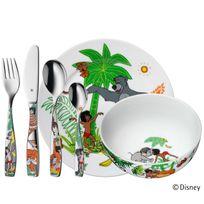 Wmf - Coffret vaisselle pour enfants 6 pièces en porcelaine et inox Livre de la JungleNC