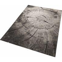 Wecon Home - Tapis Wild Oak par - Couleur - Noir, Taille - 80 / 150 cm