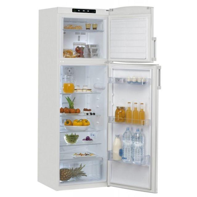 Whirlpool Réfrigérateur-congélateur 331 L - WTE3322A+NFW