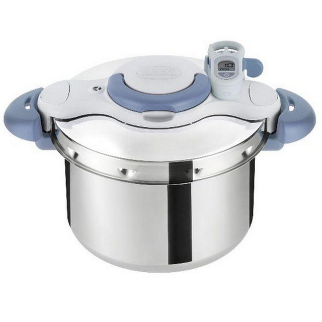 SEB - autocuiseur inox 7.5l + minuteur + hachoir manuel - p4624804