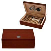 Egoist - Cave à cigare 50 cigares kit cerisier