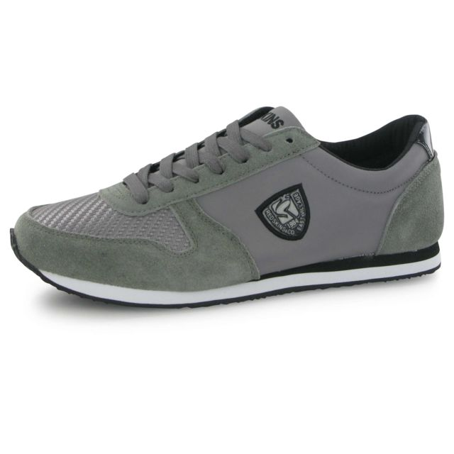 the latest 15aa5 4213f Redskins - Disco gris, baskets mode homme - pas cher Achat   Vente Baskets  homme - RueDuCommerce