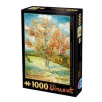 Dtoys - Puzzle 1000 pièces - Van Gogh : Pécher en fleurs