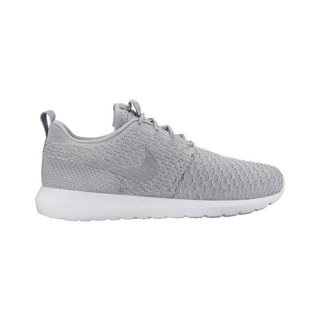 on sale 58d62 65287 Nike - Roshe Nm Flyknit Gris - 42 - pas cher Achat   Vente Baskets homme -  RueDuCommerce