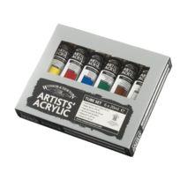 Winsor & Newton - Professional Set D'ACRYLIQUE De 6 Tubes Peinture Extra Fine 20 Ml