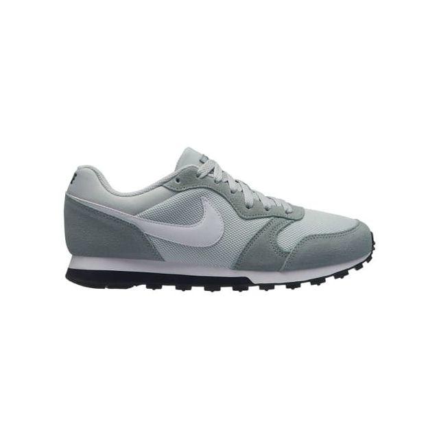 Nike - Chaussure Md Runner 2 gris bleuté blanc femme - pas cher Achat   Vente  Chaussures fitness - RueDuCommerce c0e3eab485e