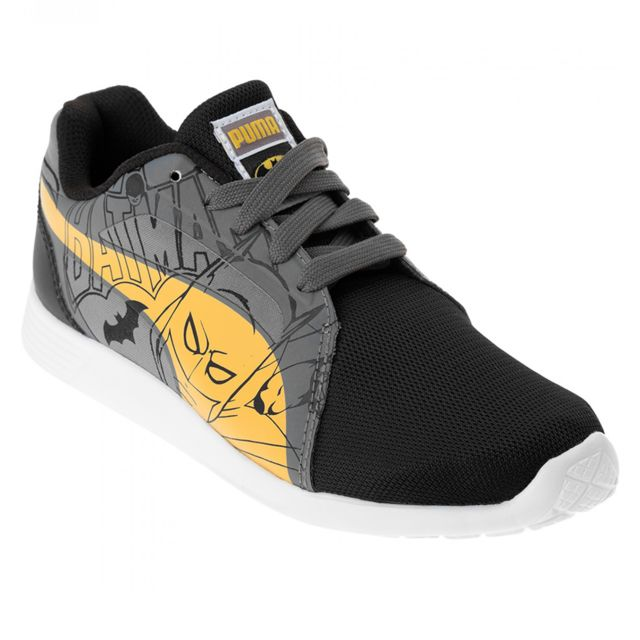 pretty nice a95f9 e60d0 Puma - St Trainer Batman Chaussure Garçon - Taille 33 - Noir - pas cher  Achat   Vente Baskets enfant - RueDuCommerce
