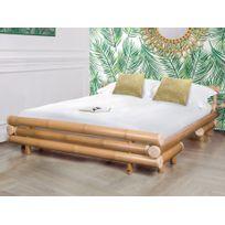 Lit Dahlia 160x200cm Bambou