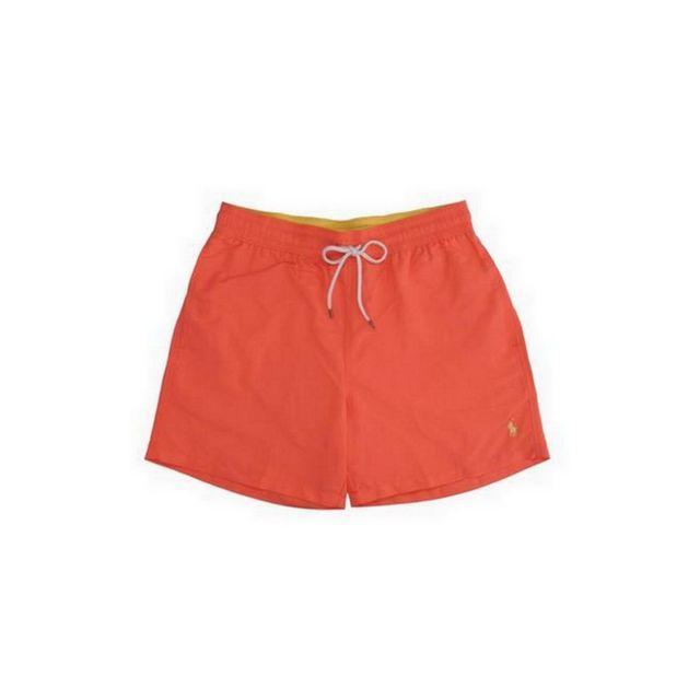 90a997515c3acb Polo Ralph Lauren - Short De Bain Traveler Rouge - pas cher Achat   Vente Short  de bain, boardshort - RueDuCommerce