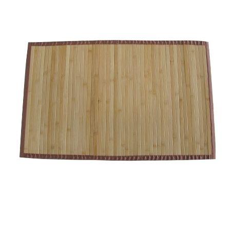 MSV Tapis Bambou Fonce 60 x 90 cm