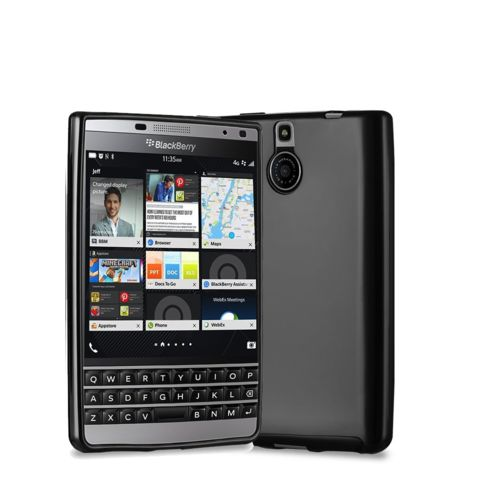 Xeptio - Blackberry Passport Silver Edition noir