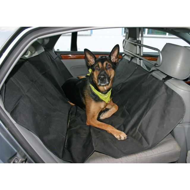 touslescadeaux housse couverture de protection chien pour voiture lavable imperm able noir. Black Bedroom Furniture Sets. Home Design Ideas