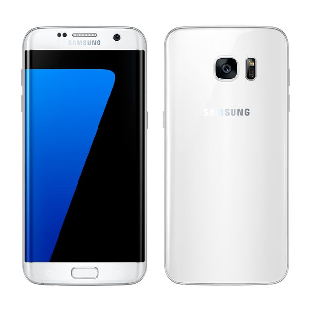 destockage samsung galaxy s7 edge blanc reconditionn pas cher achat vente smartphone. Black Bedroom Furniture Sets. Home Design Ideas