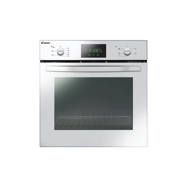 Candy Fcs245w-four Electrique Encastrable-convection Naturelle-65 L-catalyse-a-blanc