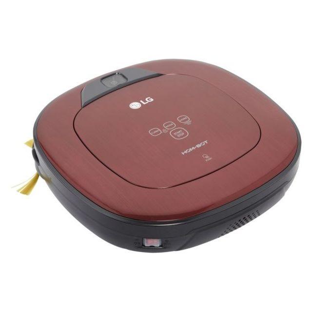 LG Aspirateur robot Vr8604PR Hom bot Square Puissance Turbo