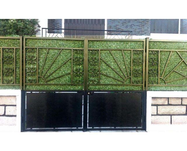 euro castor green haie artificielle ecran de verdure thuya en rouleau vendu par rueducommerce. Black Bedroom Furniture Sets. Home Design Ideas
