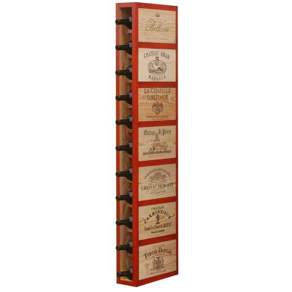CavidÉCO Pierre Goujon Meuble de rangement en bois 11 bouteilles - Orange - CavidÉCO Pierre Goujon - Aci-cvc101O