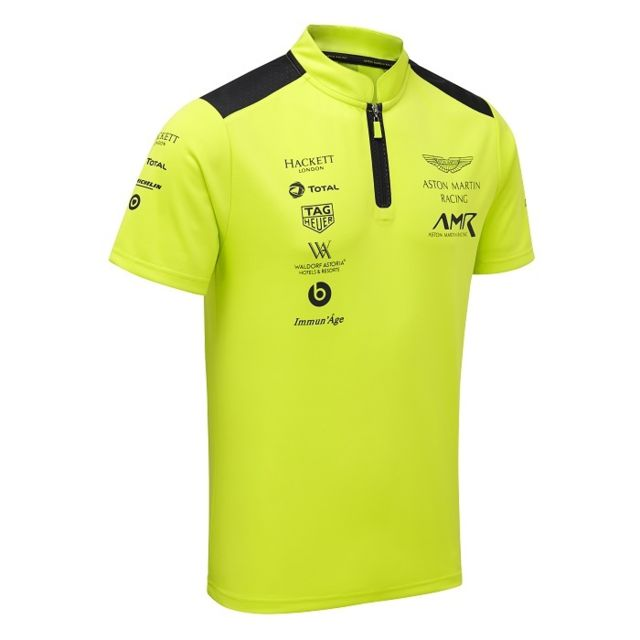 Aston Martin Polo Team 2018 vert clair pour homme