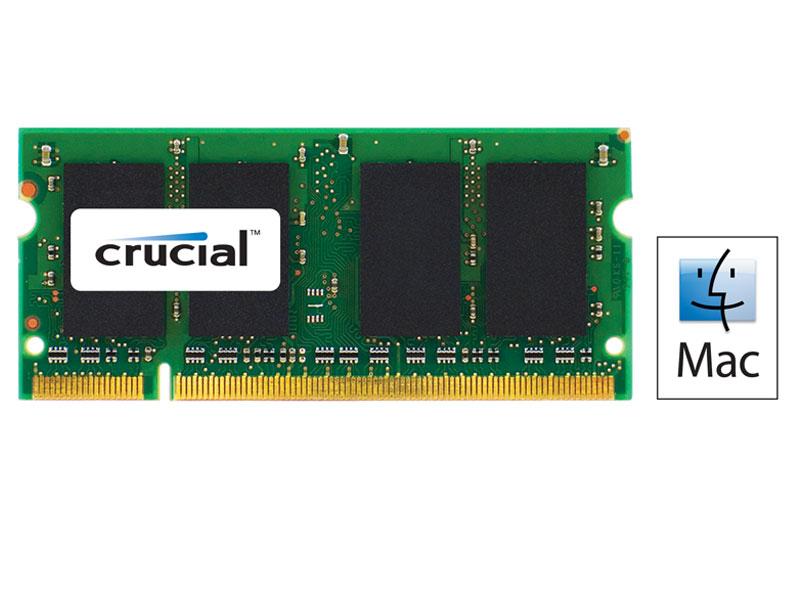 Mémoire Portable SODIMM - DDR3 PC3-8500 - 2 Go 1066 MHz - CAS 7 - Pour MAC