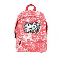 Kidabord - Sac a dos Back To School rouge 1 compartiment