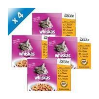 Whiskas - Délices De Volailles En Gelée 12x100g -x4