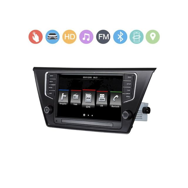 Auto-hightech Autoradio d'origine pour Volkswagen Touran L 2016