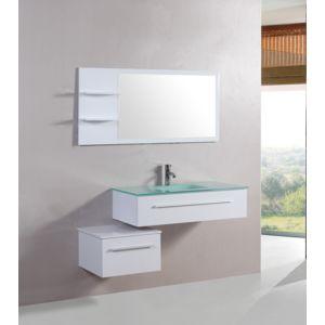Concept usine ensemble salle de bain biot meuble 1 for Miroir lyrics