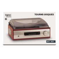 Bigben - Interactive - Tourne Disques 2 Vitesses Interactive