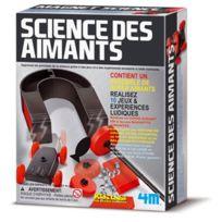 4M - Kit Dam/pour enfant Science des aimants