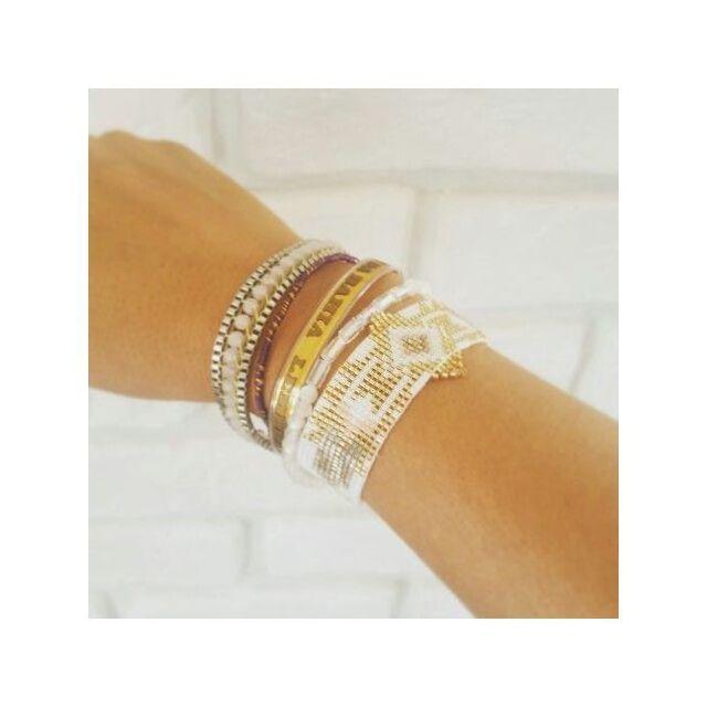Rangs SeychellesBlanc Hipanema Multi Pe¢le Bracelet Rose Et v0PNymn8Ow