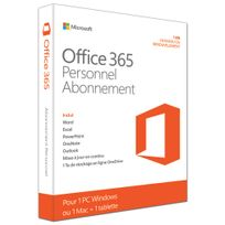 Microsoft - Logiciel Ofiice 365 Personnel