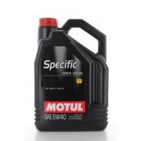 Motul - Huile Moteur Specific 505 01 502 00 5W40 - Bidon de 5 L
