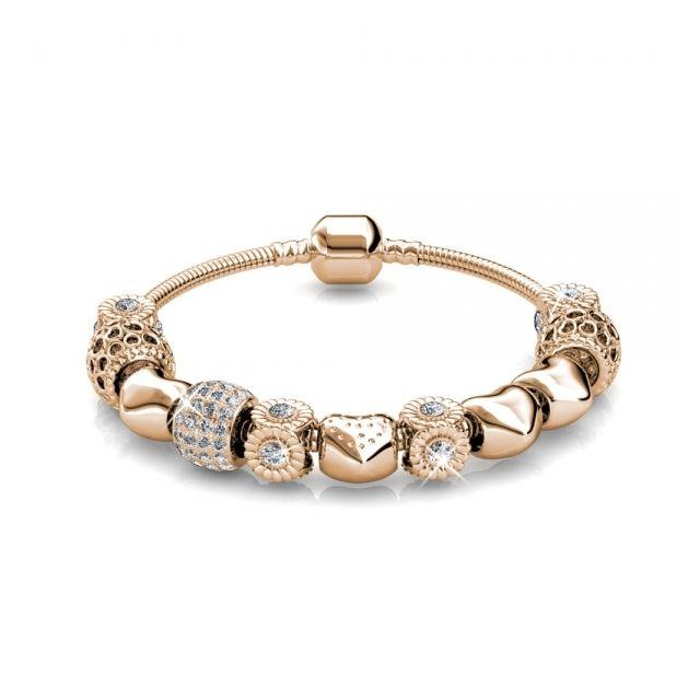 Myc Paris Bracelet Radiant Charm Plaqué Or