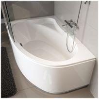 Riho - Tablier de baignoire pour Lyra droite 170x110 cm en acrylique