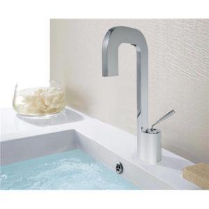 Générique - Robinet Mitigeur lavabo laiton chromé forme cascade ...