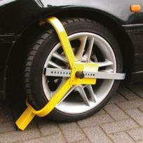 Carpoint - Sabot roue antivol caravane, voiture, camping car, remorque