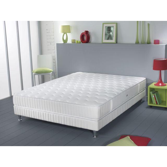 simmons matelas ressorts ensach s garnissage eliv a barcelone 90x190 cm achat vente matelas. Black Bedroom Furniture Sets. Home Design Ideas