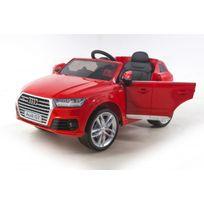 Autre - Véhicule électrique rouge Audi Q7 S-line