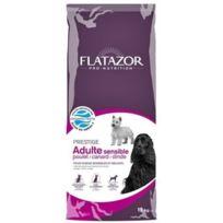 Flatazor - Adulte Sensible Poulet, Canard Et Dinde 15 Kg