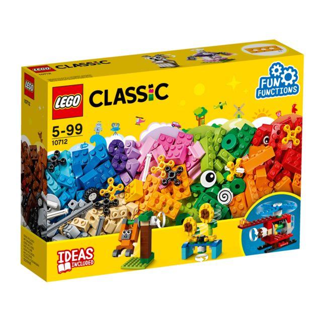 lego classic la bo te de briques et d 39 engrenages 10712 pas cher achat vente lego. Black Bedroom Furniture Sets. Home Design Ideas