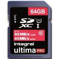 Integral - Sdxc 64 Gb-cl 10