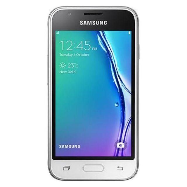 samsung galaxy j1 mini prime 2016 duos sm j106h ds white pas cher achat vente smartphone. Black Bedroom Furniture Sets. Home Design Ideas