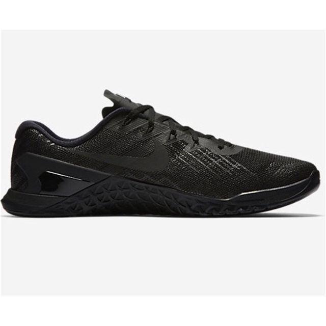 competitive price 58afb 61da7 Nike Metcon 3 Noir Noir Noir pas cher Achat Vente Chaussures running 54e9ee