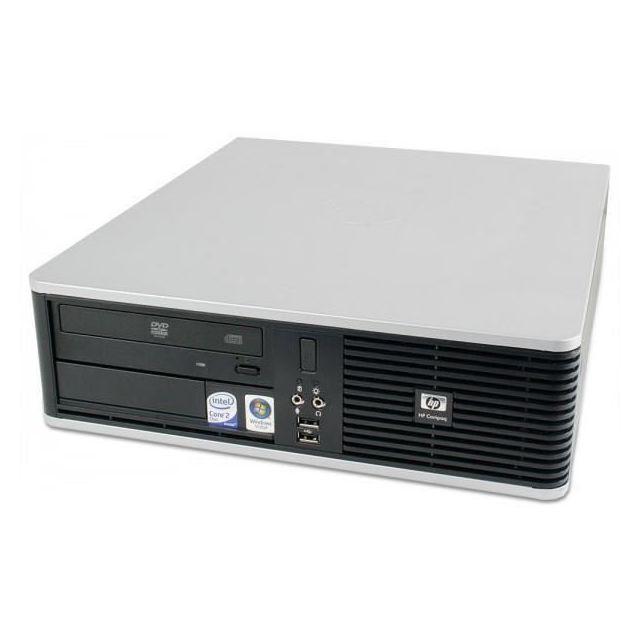 HP - Compaq dc7900 : Intel Core2Duo E8600 3.33 Ghz - RAM 4 Go - HDD 160Go SATA - DVD+/-RW - Intel GMA 4500 - SFF - Windows 7 Professionnel 64 bits COA